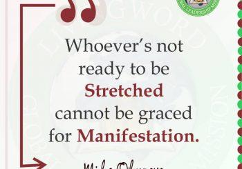 Stretched for Manifestation