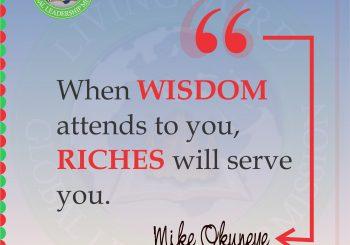 Seek Wisdom Today!