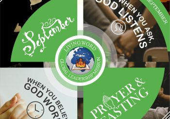 Welcome to September Prayer and Fasting